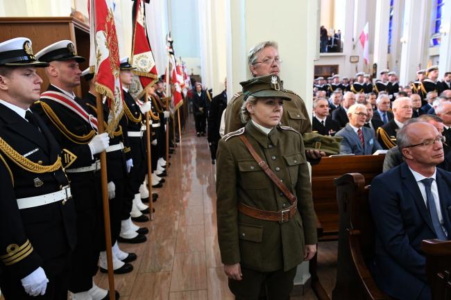 Funeral ceremonies for Admiral Józef Unrug. Photo: PAP/Adam Warżawa