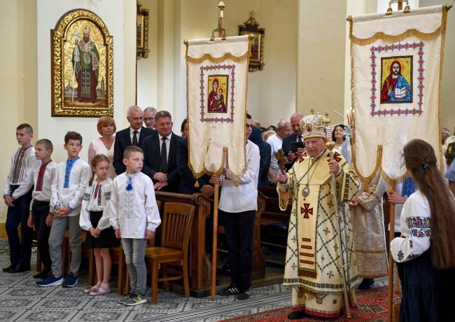 Владика, митрополит-емерит Перемишльсько-Варшавський архієпископ Іван Мартиняк