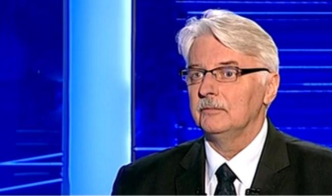 Foreign Minister Witold Waszczykowski. Photo: screenshot/TVPInfo
