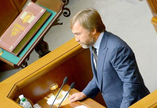 Народний депутат України з партії Опозиційний блок Вадим Новинський