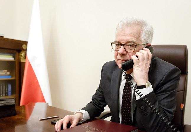 Polish Foreign Minister Jacek Czaputowicz
