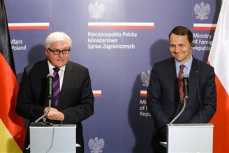 Poland and Germany working to resolve Ukraine crisis