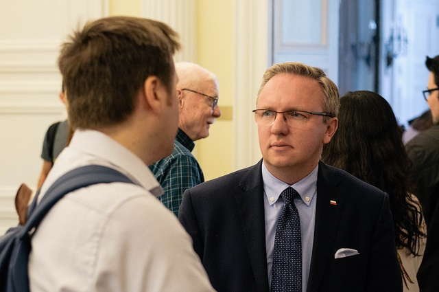 Polish presidential aide Krzysztof Szczerski. Photo: Flickr.com/Center for the Study of Europe Boston University