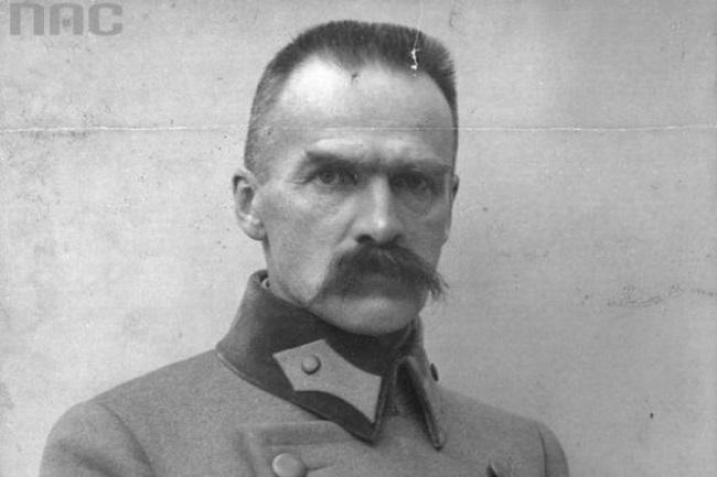 Józef Piłsudski. Foto: Narodowe Archiwum Cyfrowe
