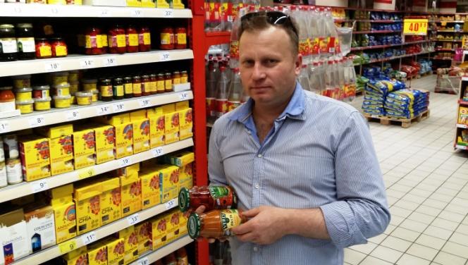Тарас Кравець знає де шукати українські продукти у Польщі