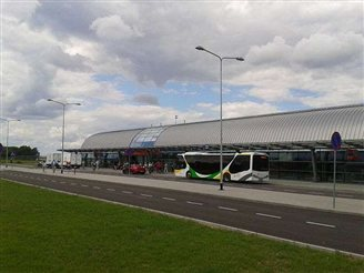 Modlin airport reaches 1.5 million passengers