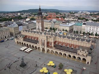 Record number of tourists in Kraków