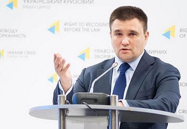 Ukrainian Foreign Minister Pavlo Klimkin. Photo: Instagram/mfa_ukraine.