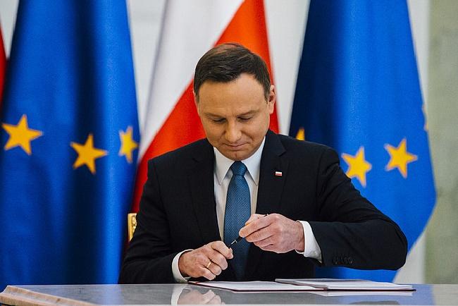 Staatspräsident Andrzej Duda.