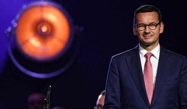 Премьер-министр Польши Матеуш Моравецкий на Экономическом форуме в Крынице-Здруй