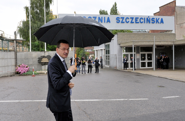 Deputy Prime Minister and Minister of Development Mateusz Morawiecki. Photo: PAP/Marcin Bielecki