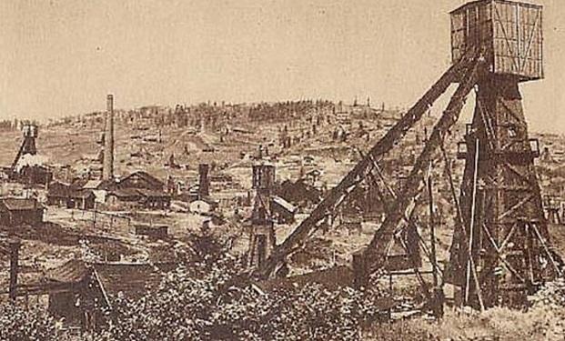 Нафтові шиби в околицях Борислава