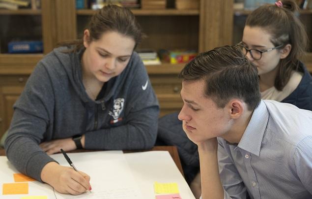 Члены Ассоциации за создание Молодежного совета Польши во время работы