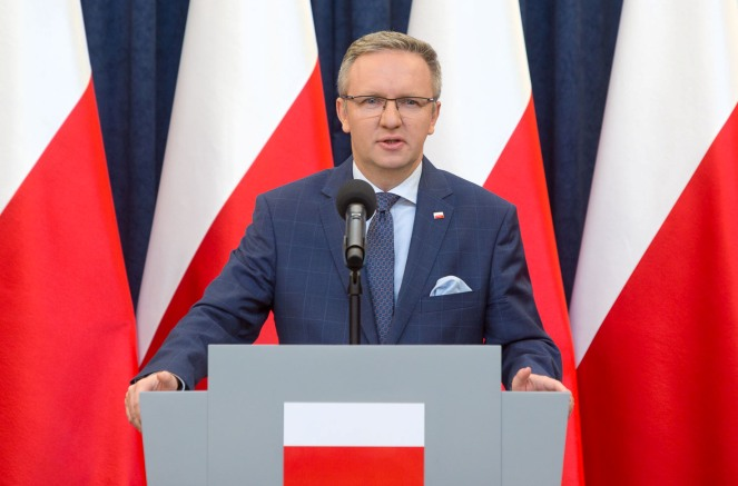 Голова Кабінету президента Респубілки Польщі Кшиштоф Щерський