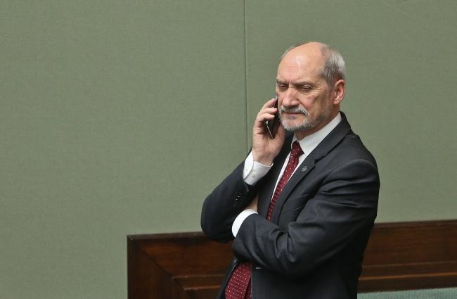 Antoni Macierewicz. Photo: PAP/Rafał Guz