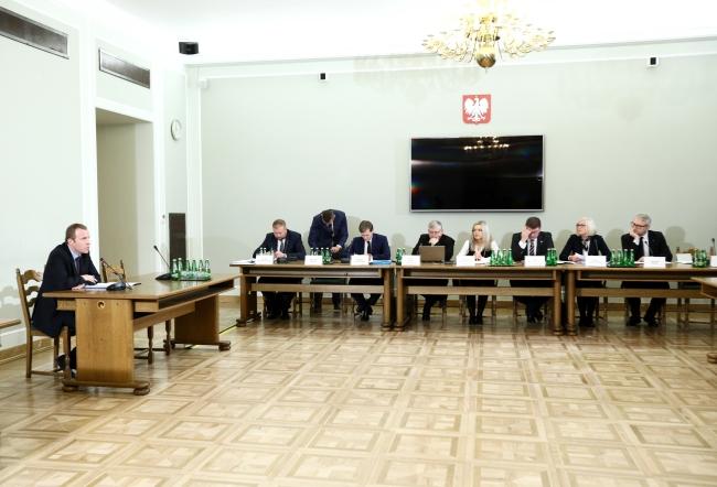 Заседание парламентской комиссией по расследованию дела Amber Gold.