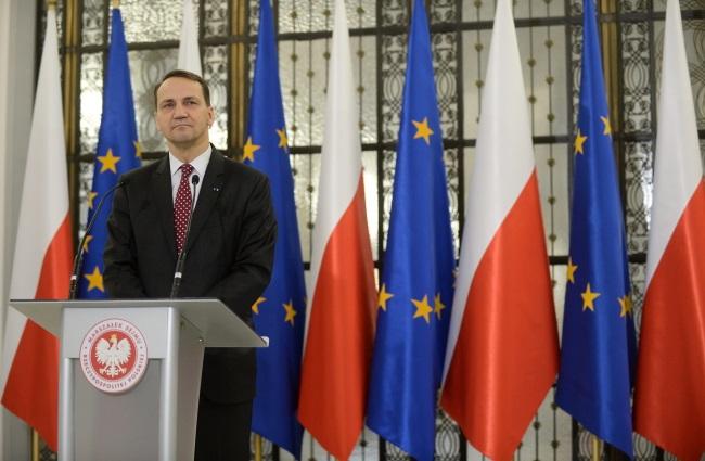 Radosław Sikorski. Photo: PAP/Bartłomiej Zborowski