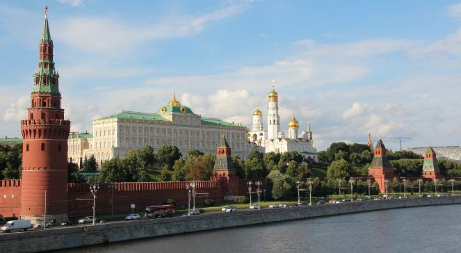 Moskwa: widok na Kreml