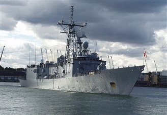 Polish frigate heading off for NATO mission