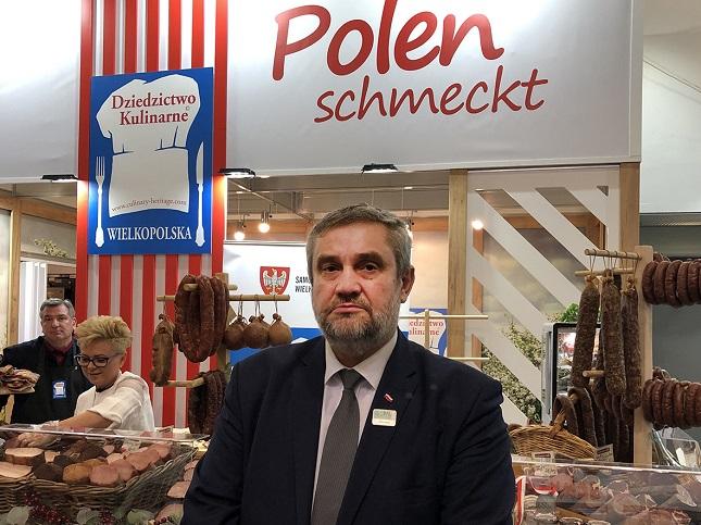 Polnischer Agrarminister Jan Krzysztof Ardanowski auf der Internationalen Grünen Woche 2019, fot. (c) Arkadiusz Łuba