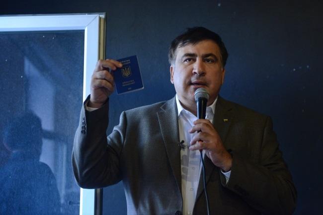 Mikheil Saakashvili. Photo: PAP/Jakub Kamiński