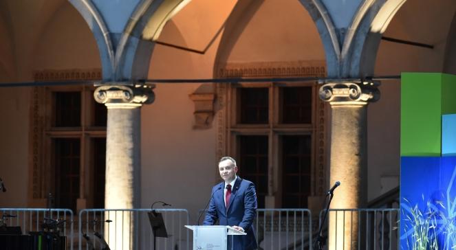 Президент Польщі Анджей Дуда під час відкриття 41 сесії Комітету Світової спадщини ЮНЕСКО у Кракові