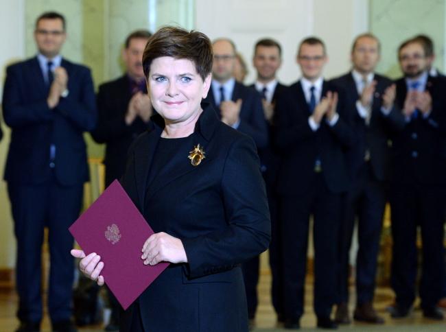 Новый премьер-министр Польши Беата Шидло.