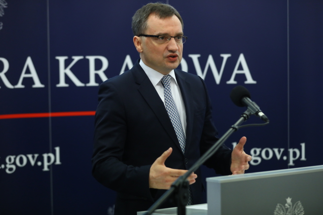 Zbigniew Ziobro. Photo: PAP/Rafał Guz.