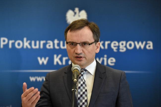 Justice Minister Zbigniew Ziobro. Photo: PAP/Jacek Bednarczyk