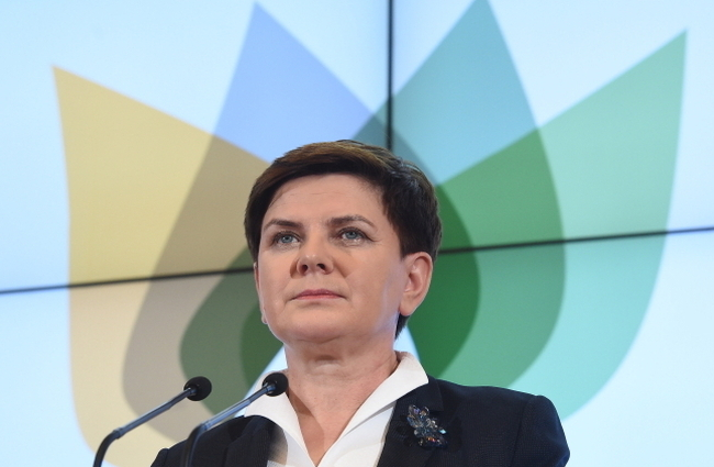 Prime Minister of Poland Beata Szydło. Photo: PAP/Radek Pietruszka