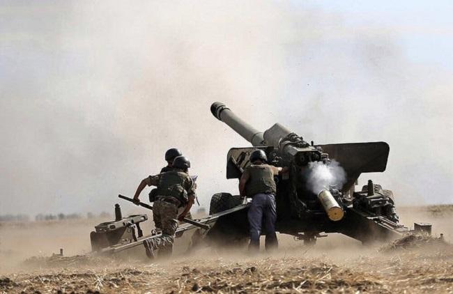 Военные действия на востоке Украины продолжаются с 2014 года.