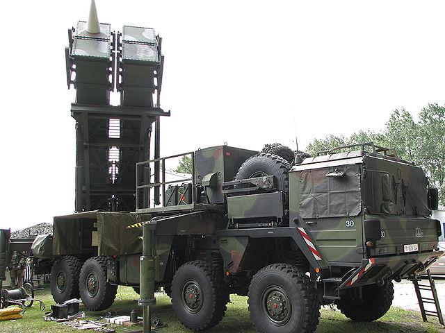 Зэнітны ракетны комплекс сярэдняга радыюсу дзеяньня Patriot