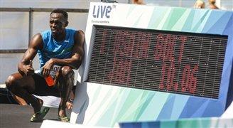 Usain Bolt in Warsaw