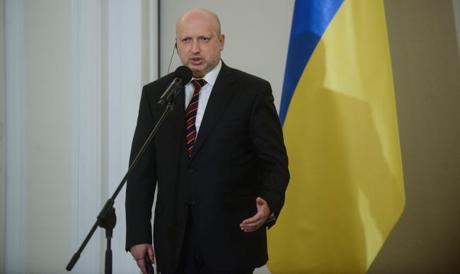 Глава Совета национальной безопасности и обороны Украины Александр Турчинов. Фото: PAP/Jakub Kamiński