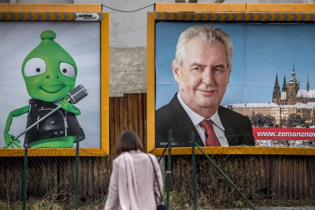 Перший тур президентських виборів у Чехії відбувся 12 і 13 січня 2018 року