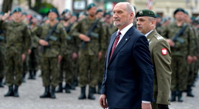 Міністр національної оборони Польщі Антоні Маєцревич