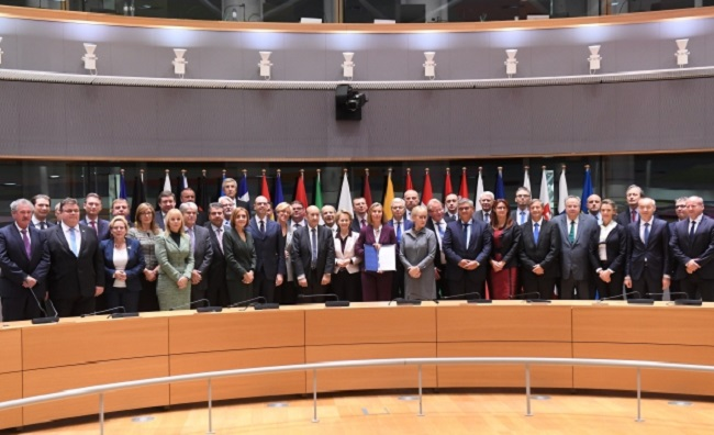 European Union  members ink landmark defense agreement