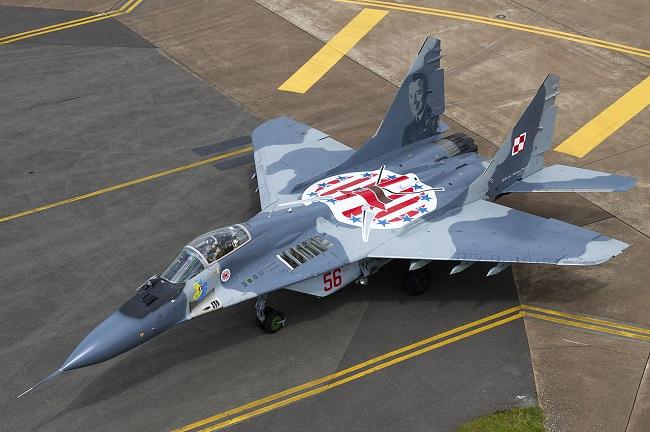 МиГ-29 ВВС Польши. Иллюстративное фото