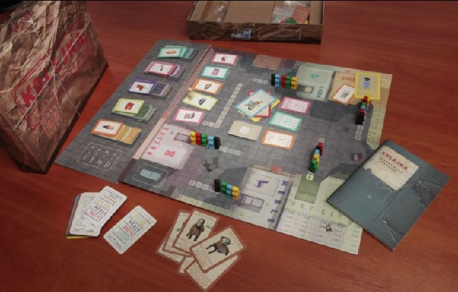 The Queue board game was developed by IPN. Photo: IPN