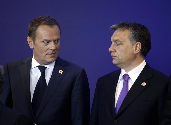 Прем'єр-міністри Дональд Туск і Віктор Орбан