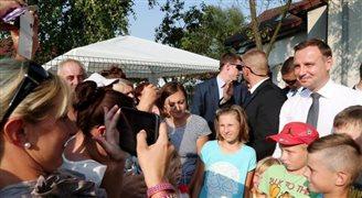 Prezydent spotkał się z Polakami w Norwegii
