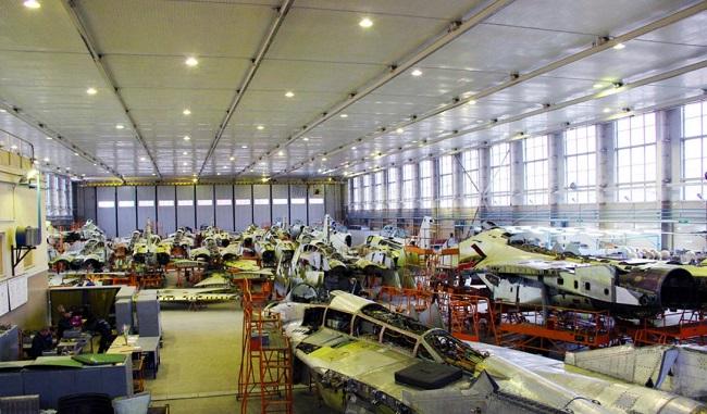 Цэх 558-га Авіярамонтнага заводу ў Баранавічах
