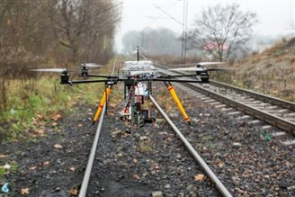 Drones to help fight off train thieves