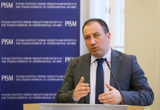 Foreign Minister of Bosnia and Herzegovina Igor Crnadek, 10 February. Warsaw. PAP/Paweł Supernak