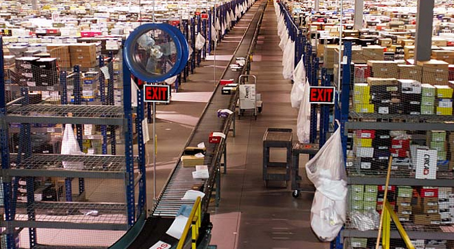 An Amazon warehouse. Photo: WIkimedia Commons
