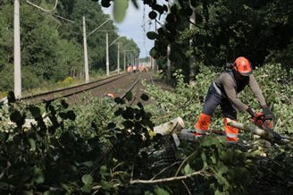 Storm damage causes colossal rail delays in Poland