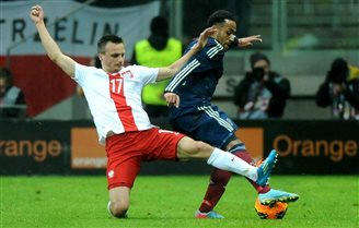 Poland disappoint in Scotland friendly