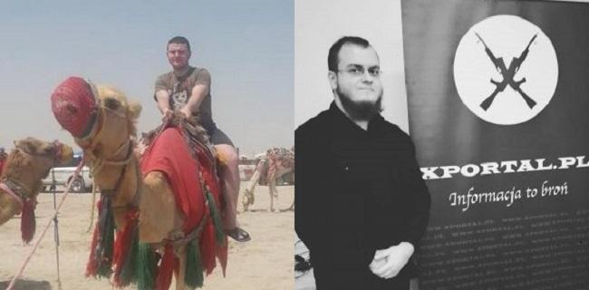 Подозреваемые в поджоге венгерского культурного центра в Украине Адриан Марглевский и Томаш Рафал Шимковяк.