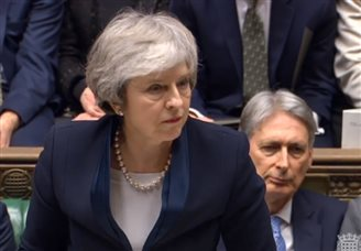 BREAKING: Upheaval as British PM's Brexit deal rejected