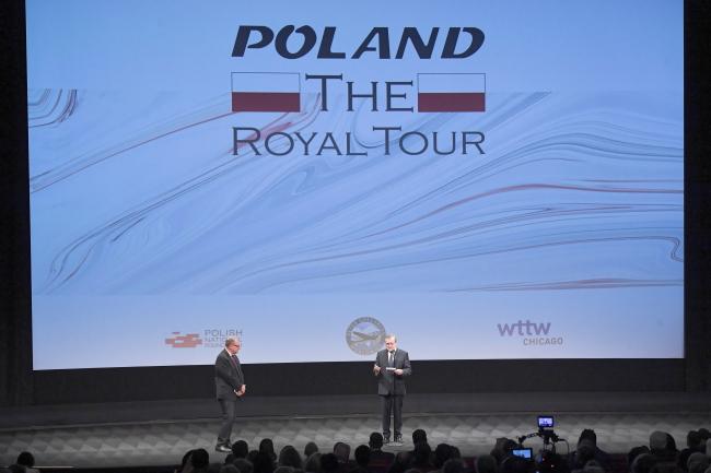 У США відбулася прем'єра фільму «Poland: The Royal Tour»